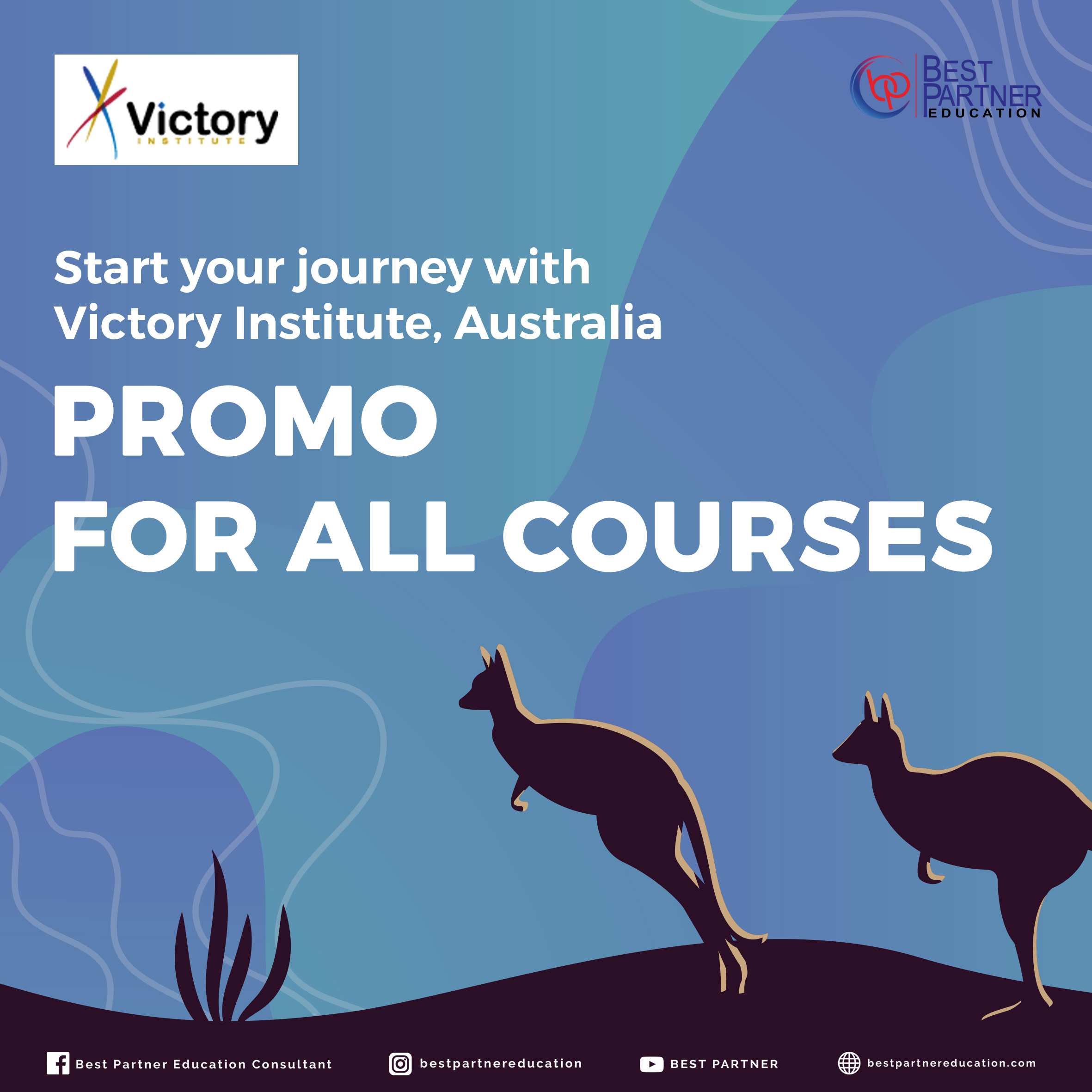 Promo for All Courses at Victory Institute