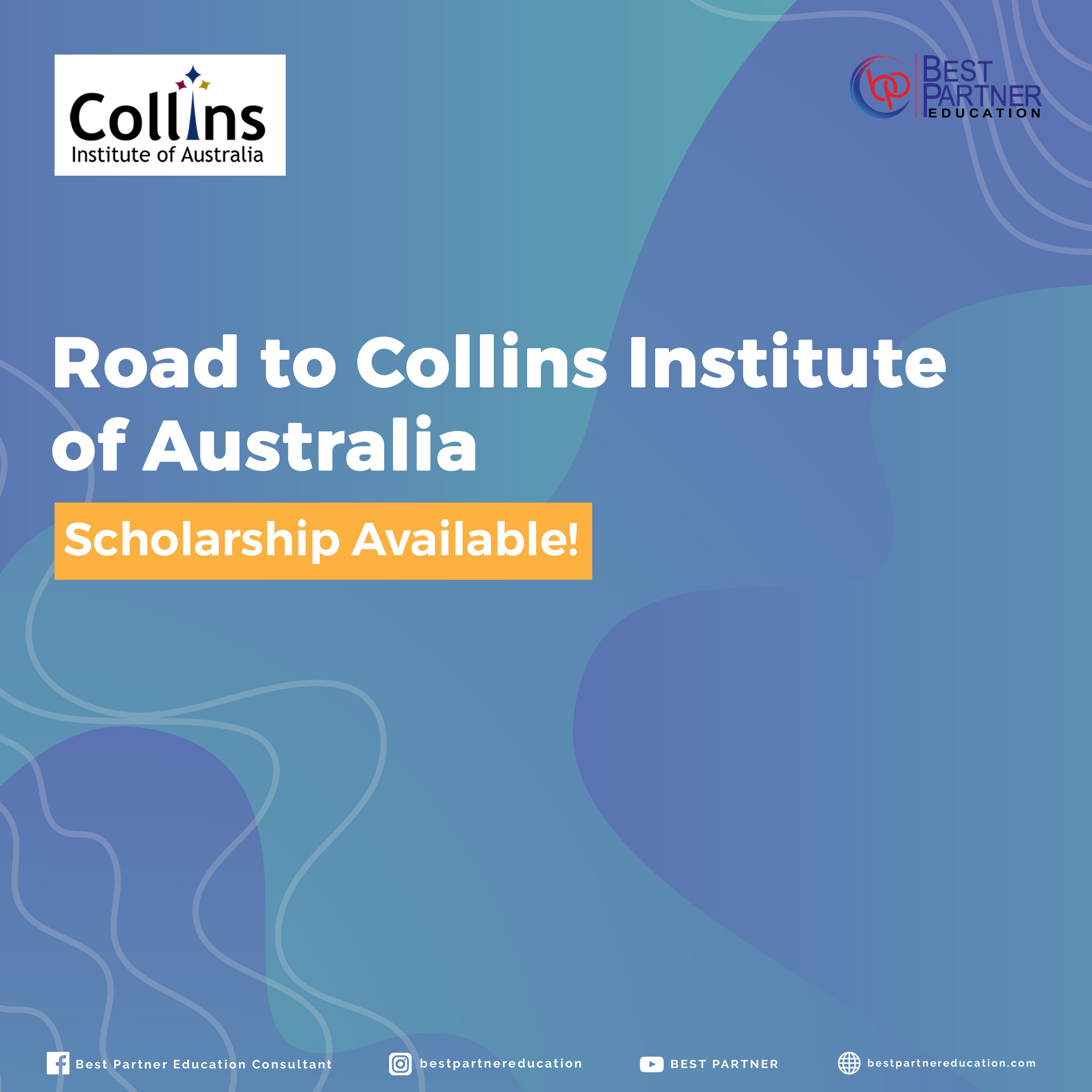 Road to Collins Institute of Australia Scholarship Available!